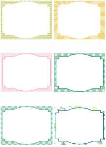 Free Printable Note Card Template | Template Business Psd for Index Card Template For Pages