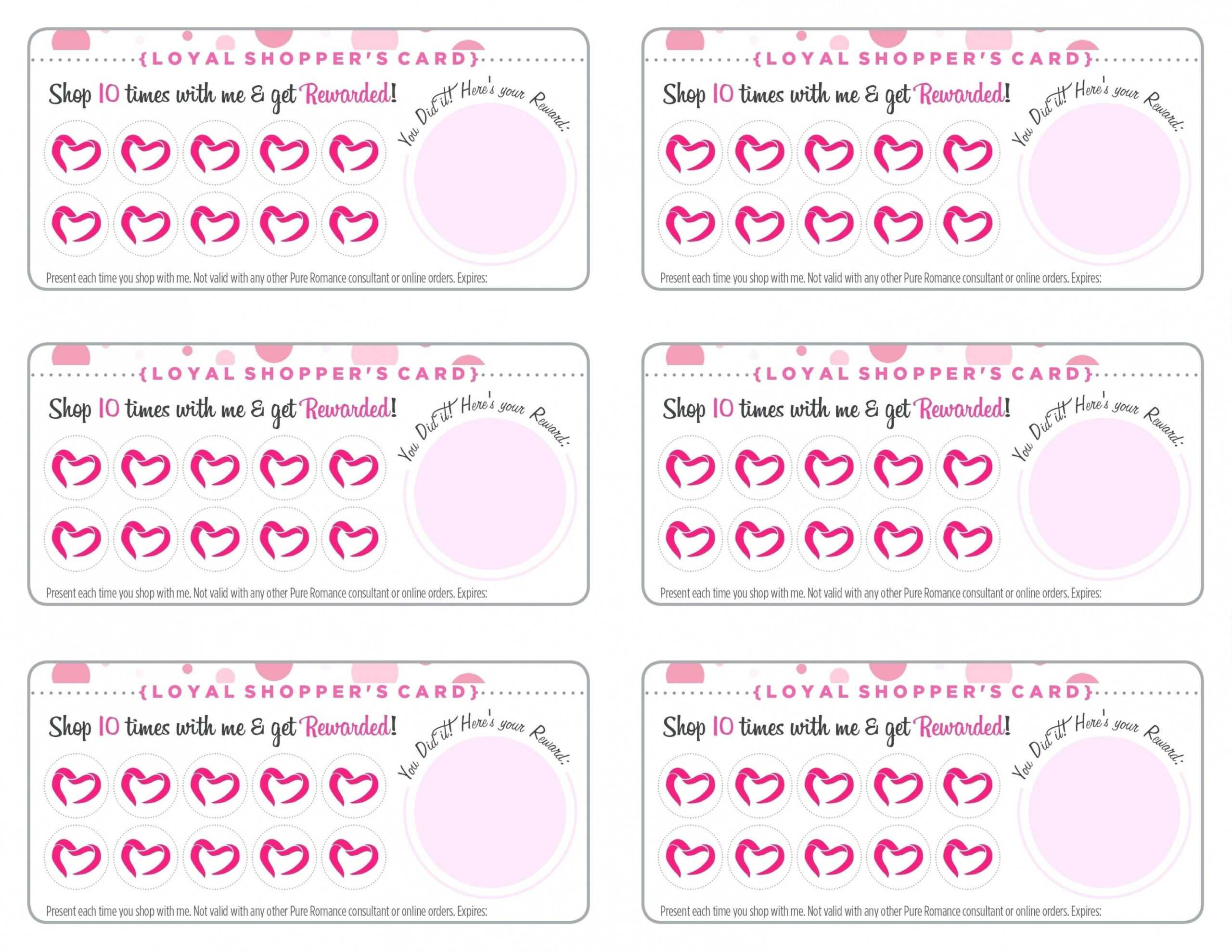 Free Printable Punch Card Template - Carlynstudio Inside Free Printable Punch Card Template