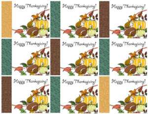 Free Printable Thanksgiving Place Cards — Also Great For intended for Thanksgiving Place Card Templates