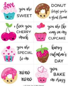 Free Printable Valentine Cards For Kids – Sarah Titus with regard to Valentine Card Template For Kids