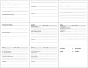 Free Project Report Templates | Smartsheet in Post Mortem Template Powerpoint