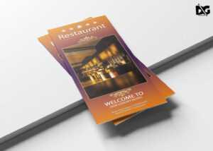 Free Psd Hotel Tri-Fold Brochure Template | Free Psd Mockup throughout Welcome Brochure Template
