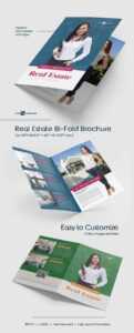 Free Real Estate Bi-Fold Brochure In Psd | Free Psd Templates pertaining to Real Estate Brochure Templates Psd Free Download