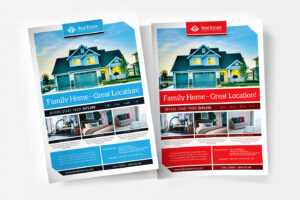 Free Real Estate Templates For Photoshop & Illustrator for Real Estate Brochure Templates Psd Free Download