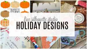 Free Silhouette Designs – Silhouette School throughout Silhouette Cameo Card Templates