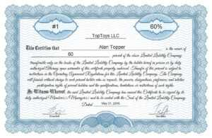 Free Stock Certificate Online Generator intended for Certificate Of Ownership Template