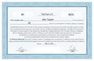 Free Stock Certificate Online Generator regarding Blank Share Certificate Template Free