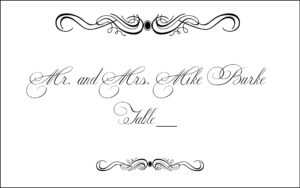 Free Table Card Cliparts, Download Free Clip Art, Free Clip inside Table Place Card Template Free Download
