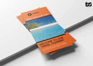 Free Travel Tri-Fold Brochure Template | Free Psd Mockup pertaining to Welcome Brochure Template