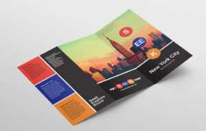 Free Travel Trifold Brochure Template For Photoshop in Travel Guide Brochure Template