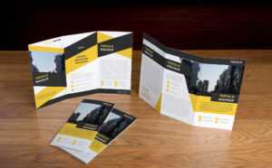 Free Tri-Fold Brochure Mockup (Psd) pertaining to 3 Fold Brochure Template Psd Free Download