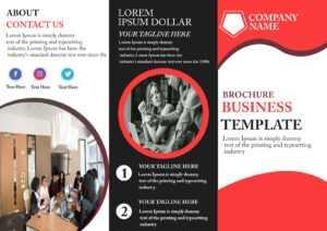 Free Tri-Fold Brochure Template – Download Free Tri-Fold with 3 Fold Brochure Template Psd Free Download