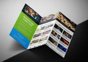 Free Tri-Fold Brochure Template For Events & Festivals – Psd within 3 Fold Brochure Template Psd