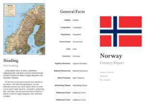Free Tri-Fold Brochure Templates & Examples [15+ Free Templates] pertaining to Science Brochure Template Google Docs