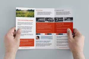 Free Trifold Brochure Template In Psd, Ai & Vector – Brandpacks for 3 Fold Brochure Template Free