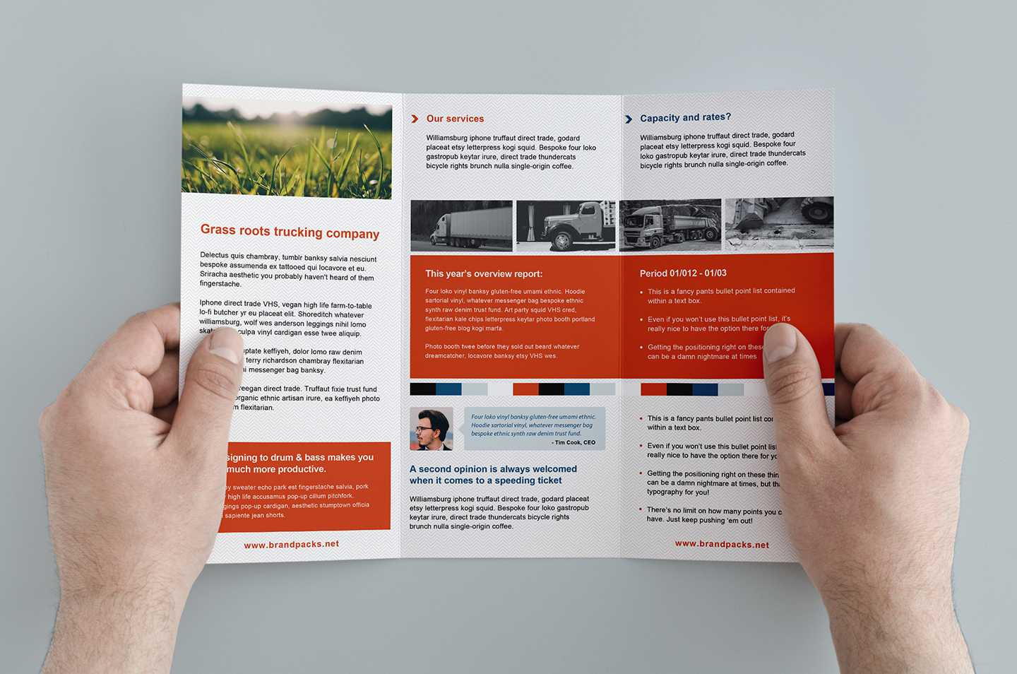 Free Trifold Brochure Template In Psd, Ai & Vector - Brandpacks With Tri Fold Brochure Template Illustrator Free