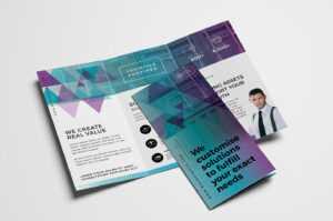 Free Trifold Brochure Template Vol.2 In Psd, Ai & Vector in 2 Fold Brochure Template Psd