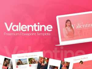 Free Valentine Powerpoint Templaterrgraph On Dribbble inside Valentine Powerpoint Templates Free