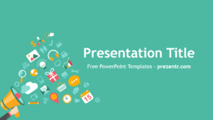 Free Viral Campaign Powerpoint Template – Prezentr in Virus Powerpoint Template Free Download