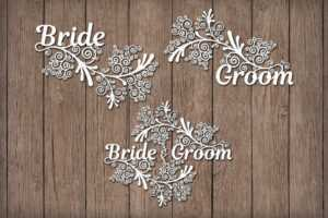 Friezes Wedding Svg Files For Silhouette Cameo And Cricut. Wedding Clipart  Png. Wedding Paper Craft Template. Wedding Stencils For Card Making. inside Silhouette Cameo Card Templates
