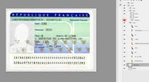 Full Identity Card France [Fra] | Link For Free Download Psd regarding French Id Card Template
