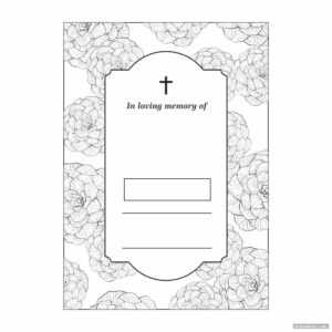 Funeral Memory Cards Templates Printable – Printabler in In Memory Cards Templates