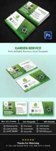 Gardening Business Card Templates & Designs From Graphicriver regarding Gardening Business Cards Templates