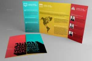Gate Fold Brochures – Oflu.bntl within Gate Fold Brochure Template