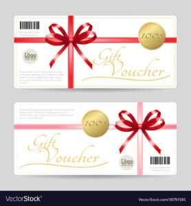 Gift Card Or Gift Voucher Template for Gift Card Template Illustrator