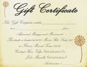 Gift Certificate Massage Template | Certificatetemplategift regarding Massage Gift Certificate Template Free Printable