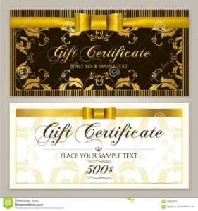 Gift Certificate Template Gift Voucher Layout, Coupon pertaining to Restaurant Gift Certificate Template