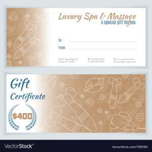 Gift Certificate Template Massage | Certificatetemplategift intended for Massage Gift Certificate Template Free Printable