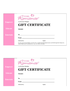 Gift Certificate Template Word – Edit, Fill, Sign Online within Microsoft Gift Certificate Template Free Word