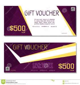 Gift Voucher. Coupon And Voucher Template For Company inside Company Gift Certificate Template