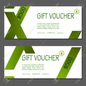 Gift Voucher. Vector, Illustration. Coupon And Voucher Template.. with Company Gift Certificate Template