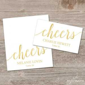 Gold Place Cards Printable Template, Editable Gold throughout Printable Escort Cards Template