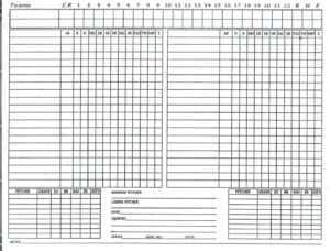 Golf League Eadsheet Free Baseball Stats Template Ideas throughout Free Baseball Lineup Card Template