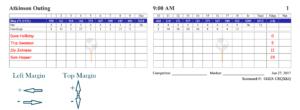 Golfgenius – Printing Scorecards (Format Tab) in Golf Score Cards Template