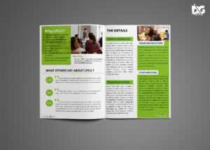 Graduation Bi-Fold Brochure Design Template – 99Effects for 4 Fold Brochure Template Word