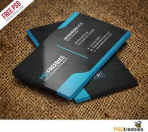 Graphic Designer Business Card Template Free Psd intended for Psd Name Card Template