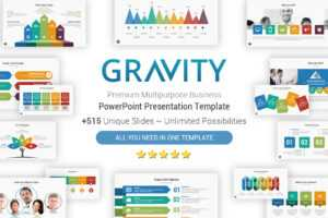 Gravity Cool Powerpoint Presentation Template – Yekpix pertaining to What Is Template In Powerpoint