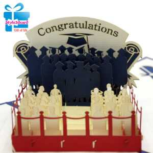 Greeting 3D Pop-Up Card within Graduation Pop Up Card Template