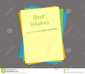 Greeting Card Template Stock Illustration. Illustration Of inside Free Blank Greeting Card Templates For Word