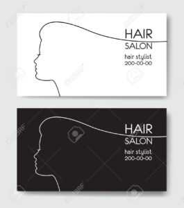 Hair Salon Business Card Templates. intended for Hair Salon Business Card Template