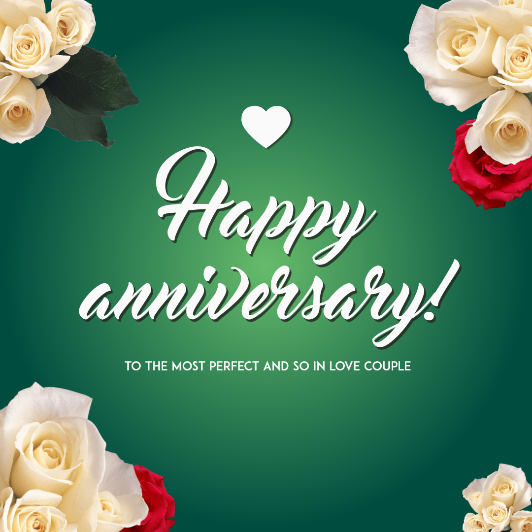 Happy Anniversary Card Template Design Template – #1454941 In Template For Anniversary Card