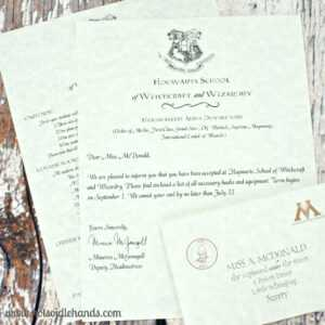 Harry Potter Birthday Invitations And Authentic Acceptance within Acceptance Card Template