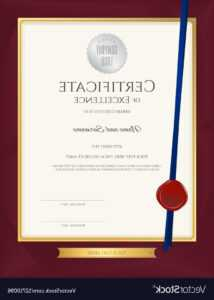 Hd Customer Service Award Certificate Templates Vector within Certificate For Years Of Service Template