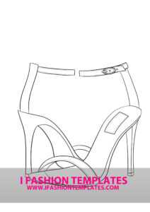 High Heel Drawing Template At Paintingvalley | Explore with regard to High Heel Shoe Template For Card