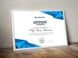 High Quality Elegant Corporate Certificate Template 000855 for High Resolution Certificate Template