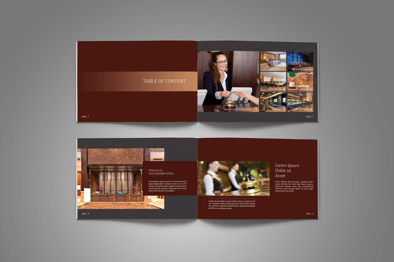 Hotel Brochure - Vsual Inside Hotel Brochure Design Templates